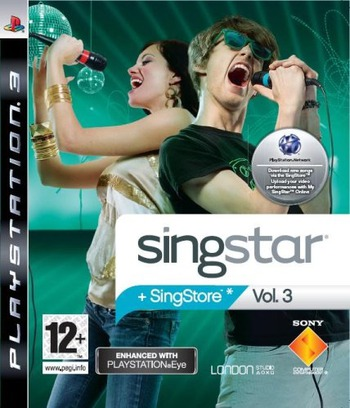 SingStar Volume 3 PS3 coverM (BCES00267)