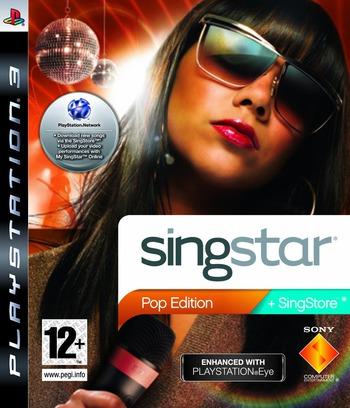 SingStar: Pop Edition PS3 coverM (BCES00341)