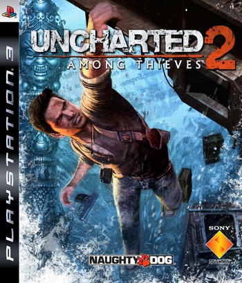 Uncharted 2: Among Thieves PS3 coverM (BCES00509)