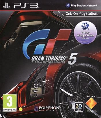 Gran Turismo 5 PS3 coverM (BCES00569)