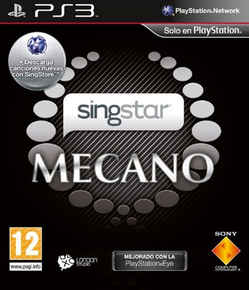 SingStar Mecano PS3 coverM (BCES00583)