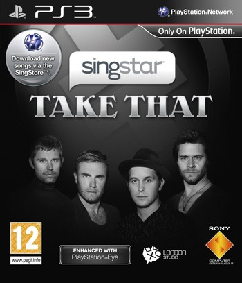 SingStar: Take That PS3 coverM (BCES00607)