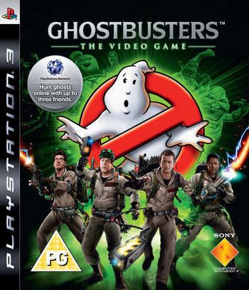 Ghostbusters: The Videogame & The Blu-Ray Movie PS3 coverM (BCES00642)