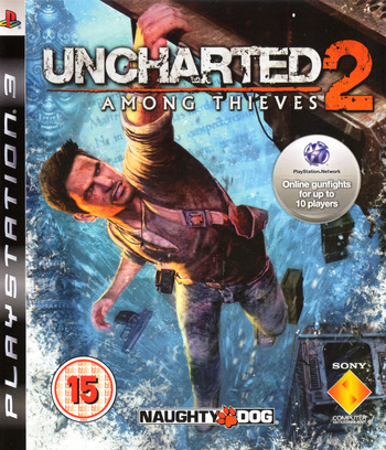 Uncharted 2: Among Thieves PS3 coverM (BCES00727)