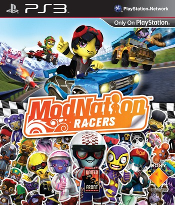ModNation Racers PS3 coverM (BCES00764)