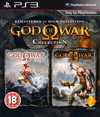 God of War Collection PS3 coverM (BCES00791)