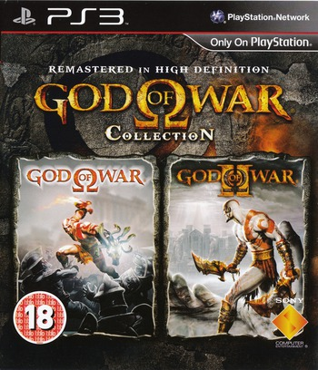 God of War Collection PS3 coverM (BCES00800)