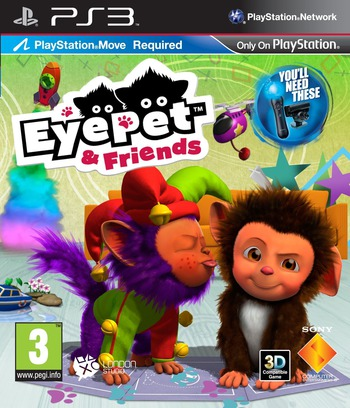 EyePet & Friends PS3 coverM (BCES00865)