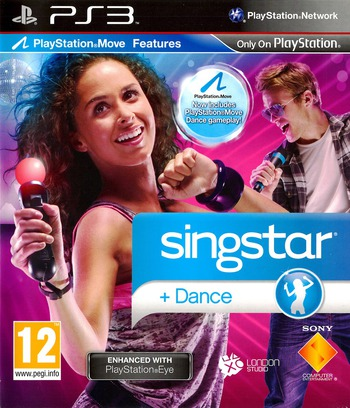 SingStar: Dance PS3 coverM (BCES00894)