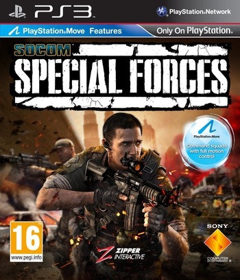SOCOM: Special Forces PS3 coverM (BCES00939)