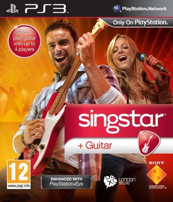SingStar Guitar PS3 coverM (BCES00981)