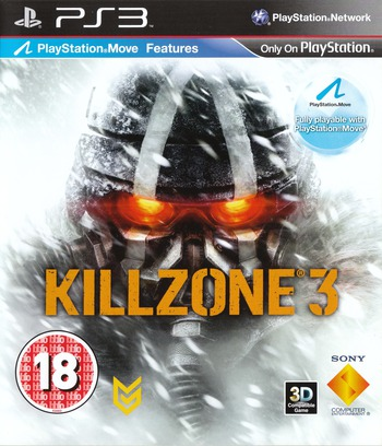 Killzone 3 PS3 coverM (BCES01007)