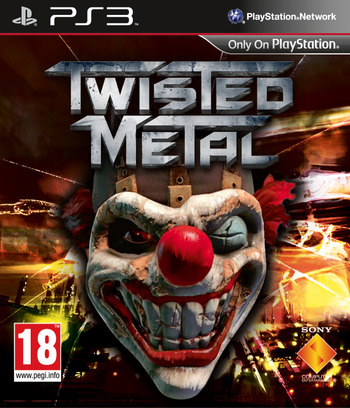 Twisted Metal PS3 coverM (BCES01010)