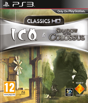 The ICO & Shadow of the Colossus Collection Array coverM (BCES01097)