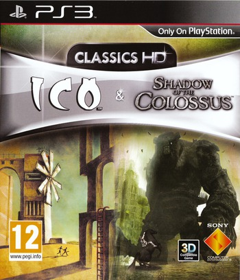 The ICO & Shadow of the Colossus Collection PS3 coverM (BCES01115)