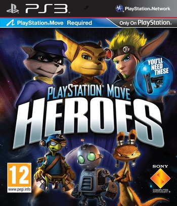 PlayStation Move Heroes PS3 coverM (BCES01180)