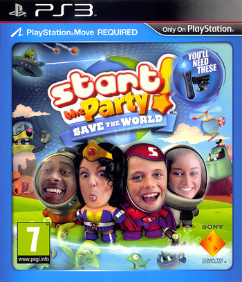 Start the Party! Save the World PS3 coverM (BCES01274)