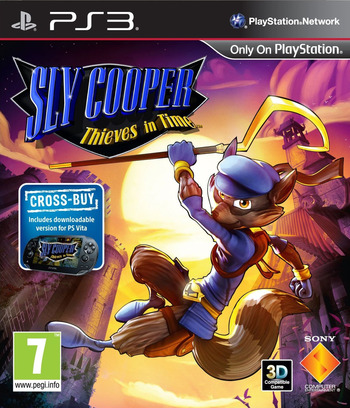 Sly Cooper: Thieves in Time PS3 coverM (BCES01284)