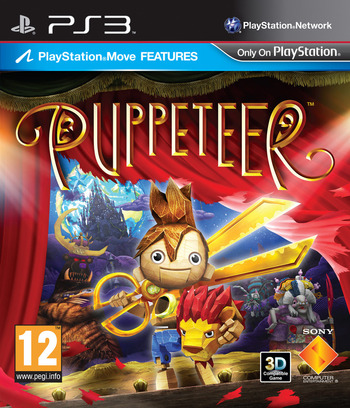 Puppeteer PS3 coverM (BCES01289)