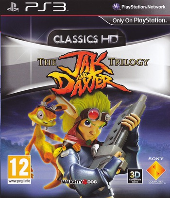 Jak & Daxter The Trilogy PS3 coverM (BCES01325)