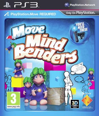 Move Mind Benders Array coverM (BCES01334)