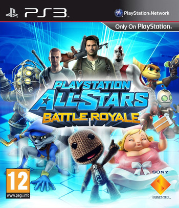 PlayStation All-Stars Battle Royale PS3 coverM (BCES01435)