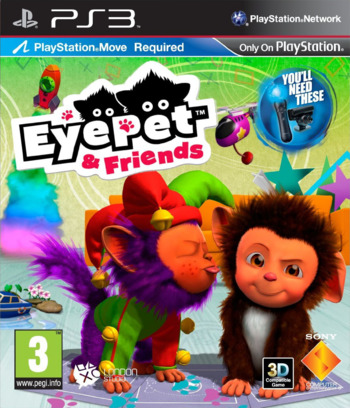 EyePet & Friends PS3 coverM (BCES01491)