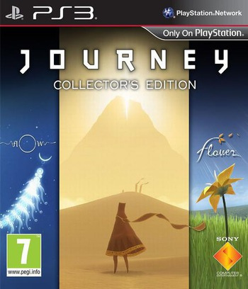 Journey Collector's Edition PS3 coverM (BCES01740)