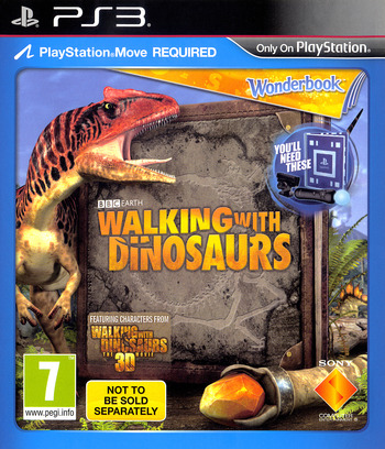 Wonderbook: Walking with Dinosaurs PS3 coverM (BCES01953)
