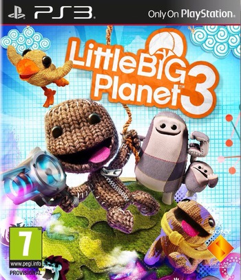 LittleBigPlanet 3 PS3 coverM (BCES02068)