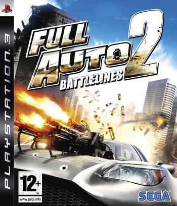 Full Auto 2: Battlelines PS3 coverM (BLES00015)