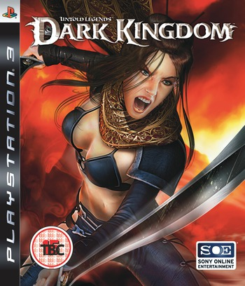 Untold Legends: Dark Kingdom PS3 coverM (BLES00019)