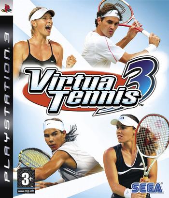 Virtua Tennis 3 PS3 coverM (BLES00027)