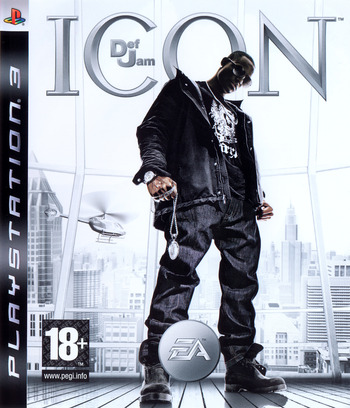 Def Jam: Icon PS3 coverM (BLES00042)