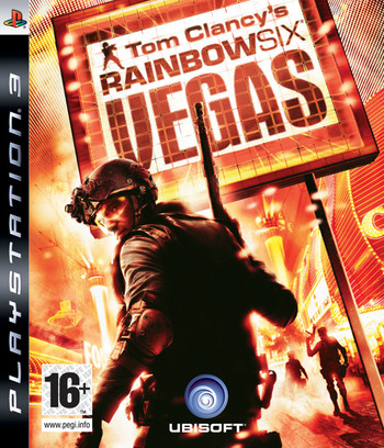 Tom Clancy's Rainbow Six: Vegas PS3 coverM (BLES00054)
