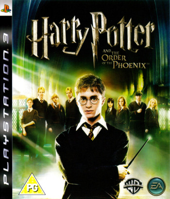 Harry Potter and the Order of the Phoenix PS3 coverM (BLES00070)