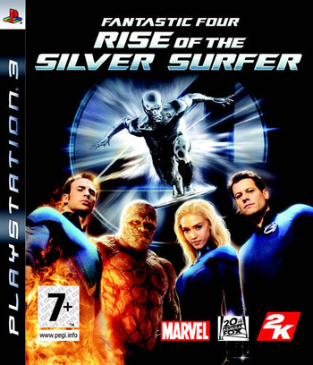 Fantastic Four: Rise of the Silver Surfer PS3 coverM (BLES00075)
