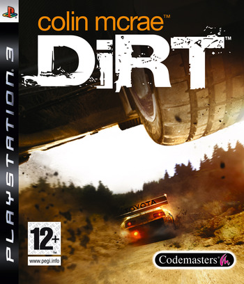 Colin McRae: DiRT PS3 coverM (BLES00095)