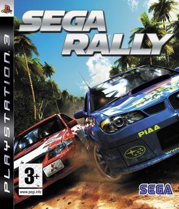 Sega Rally PS3 coverM (BLES00107)
