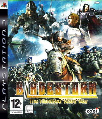Bladestorm: The Hundred Years' War PS3 coverM (BLES00113)