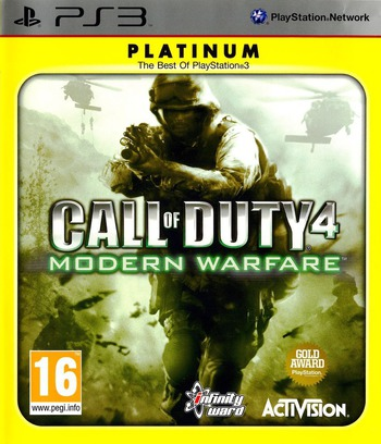 Call of Duty 4: Modern Warfare PS3 coverM (BLES00148)