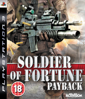 Soldier of Fortune: Payback PS3 coverM (BLES00189)