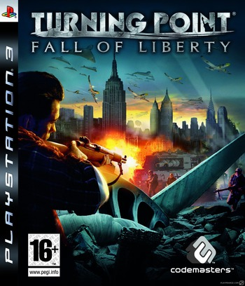 Turning Point: Fall of Liberty PS3 coverM (BLES00196)