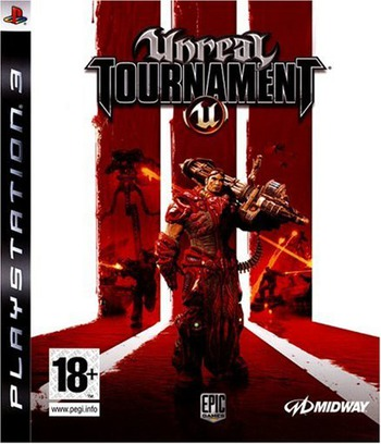 Unreal Tournament 3 PS3 coverM (BLES00200)