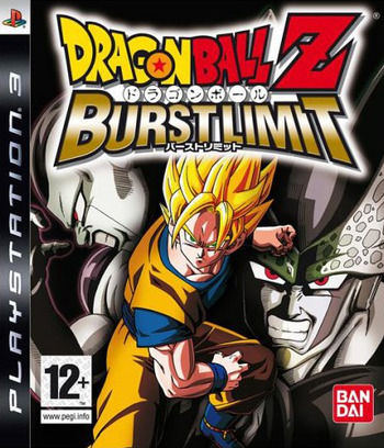 Dragon Ball Z: Burst Limit PS3 coverM (BLES00231)