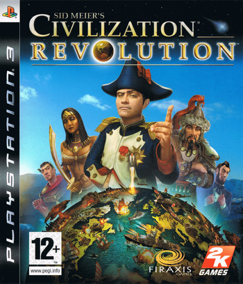Sid Meier's Civilization Revolution PS3 coverM (BLES00238)