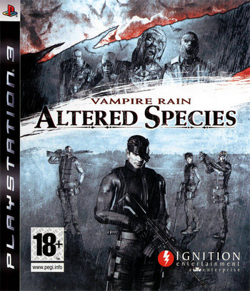 Vampire Rain: Altered Species PS3 coverM (BLES00239)