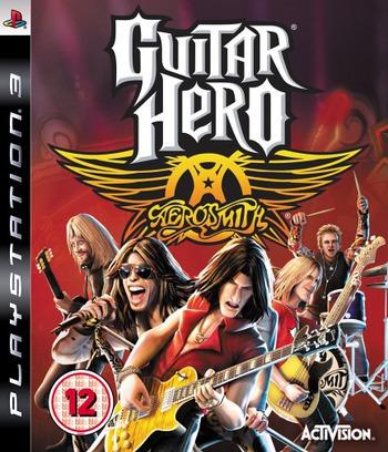 Guitar Hero: Aerosmith PS3 coverM (BLES00241)
