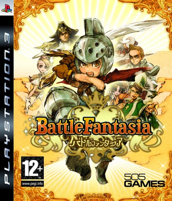 Battle Fantasia PS3 coverM (BLES00253)