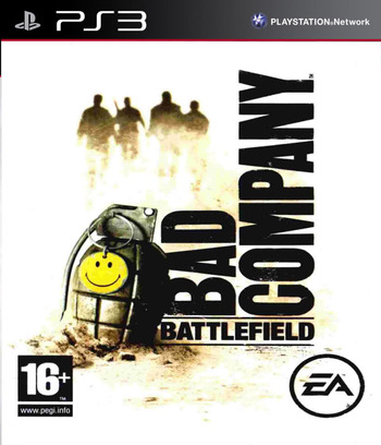 Battlefield: Bad Company PS3 coverM (BLES00259)